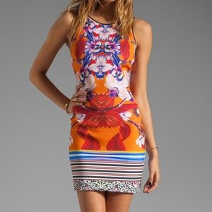 Clover Canyon Prism Orchard Neoprene Dress